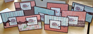 {Stampin Up Fun & Fast Notes & a hedgehog story}