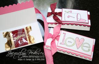 {Cute, Quick, & Easy Valentine's Chocolate!}
