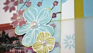 {Colour Challenge #48 Eastern Blooms Scrapbooking Layout}