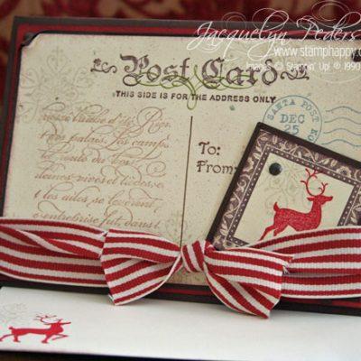 {Heritage Winter Post Christmas Card}