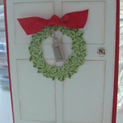 A Christmas Door & Important Message – please read