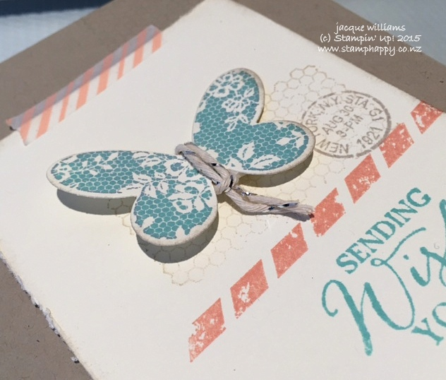 stampin up butterfly basics