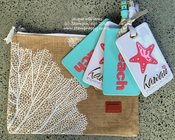 stampin up grand vacation hawaiian blog hop travel pack