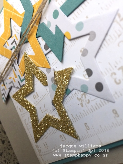 stampin up moonlight stars intertwined