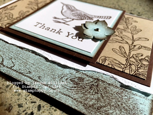 stampin up an open heart vintage early espresso pool party