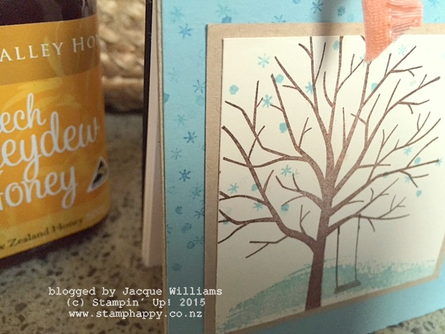 stampin up sheltering tree notebook gift idea