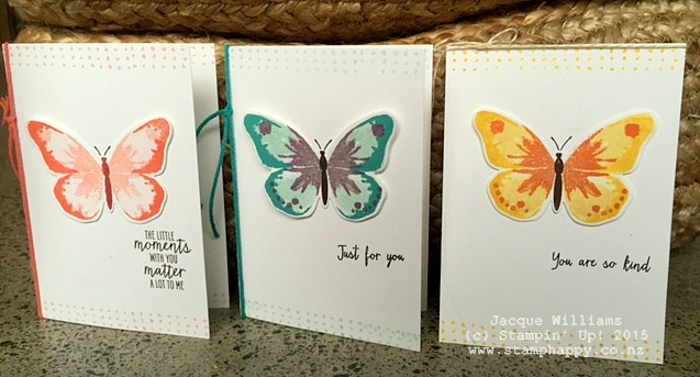 stampin up watercolor wings watercolour two step stamping