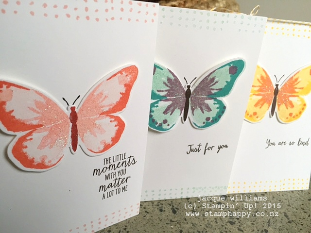 stampin up watercolour wings watercolor two step stamping