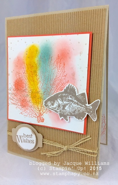 stampin up by the tide masculine vintage