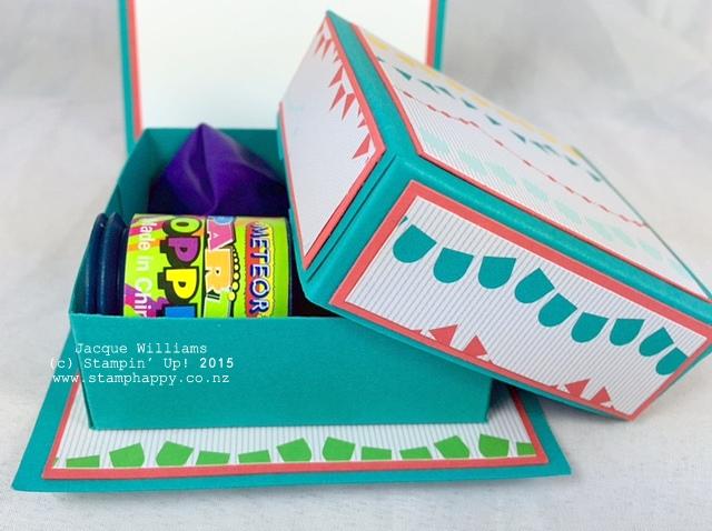 stampin up cherry on top birthday box