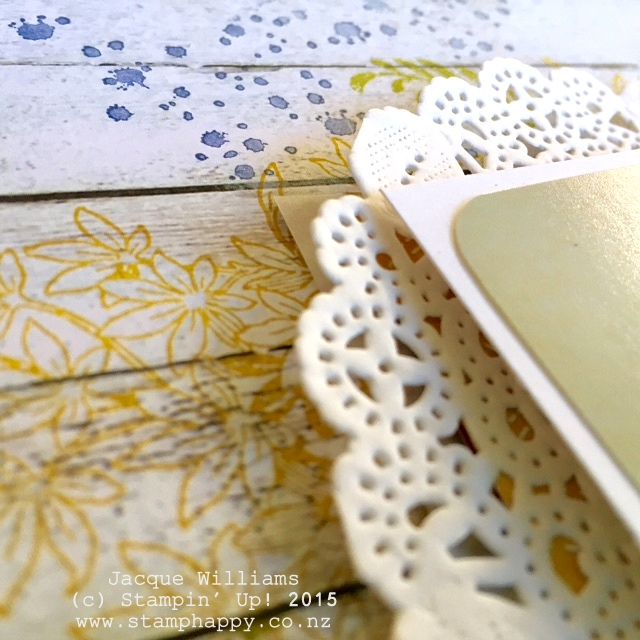 stampin up farmers market doily awesomely artistic