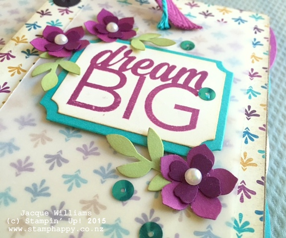 stampin up books bohemian downline gift diy book
