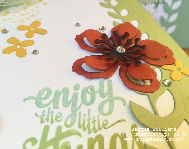 stampin up books botanical blooms dies altered book diy book christmas gift