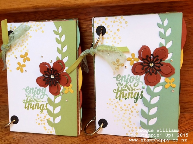 stampin up books botanical blooms diy book crafts gift