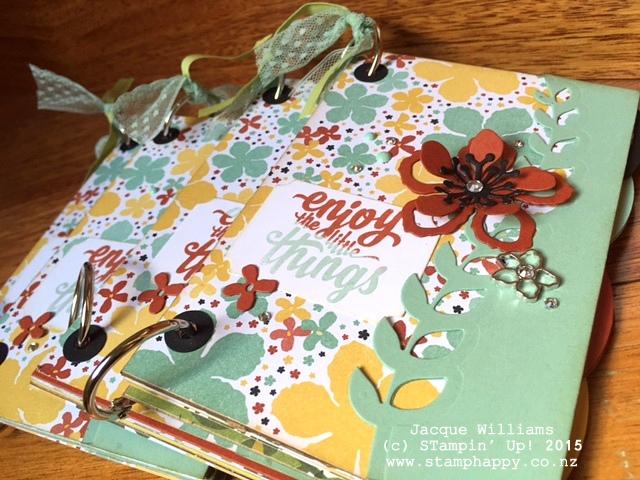 stampin up books botanical blooms sneak peek downline gift