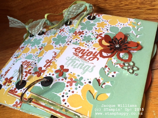 stampin up books botanical blooms sneak peek downline gift
