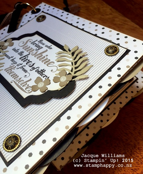 stampin up books go wild feel goods diy book downline gift