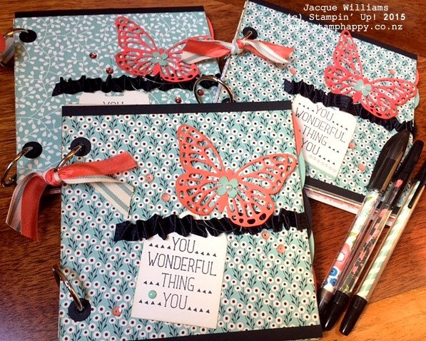stampin up books pretty petals diy books downline gift