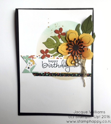 stampin up March Virtual Club