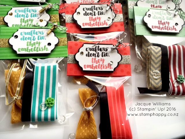 stampin up cut above embellishment gift pack