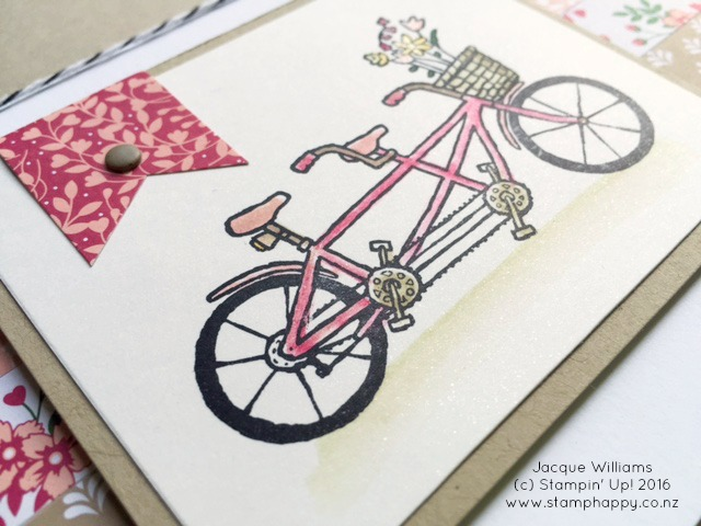 stampin up pedal pusher love blossom bloomin' love
