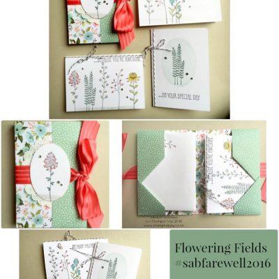 Flowering Fields Gift Set: Sale-A-Bration Farewell Part 2