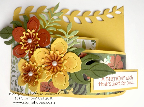 stampin up botanical blooms bendy card stamphappy new zealand