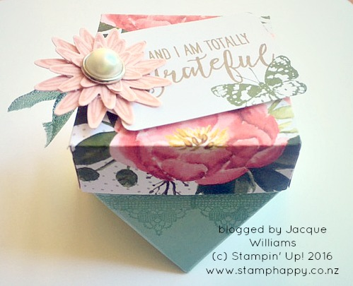 stampin up hamilton extravaganza birthday bouquet