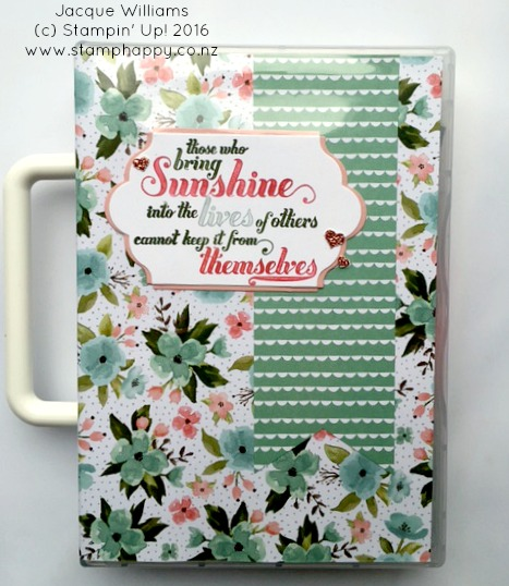 stampin up jacque williams stamphappy new zealand birthday blooms feel goods