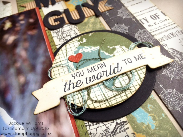 stampin up jacque williams stamphappy new zealand going global masculine layout places diy