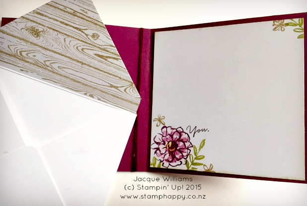 stampin up what I love glitter tape glimmer jacque williams hardwood blackberry bliss diy craft - Copy