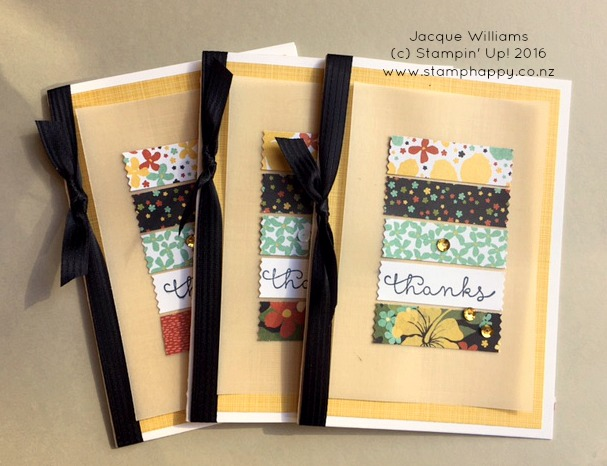 stampin up botanical blooms washi tape quick easy jacque williams new zealand
