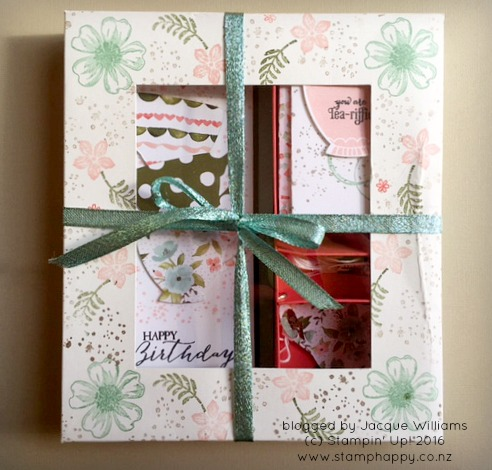 stampin up a nice cuppa gift set box jacque williams