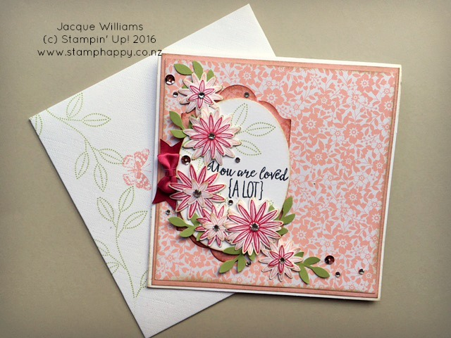 stampin up grateful bunch beautiful bouquet jacque williams