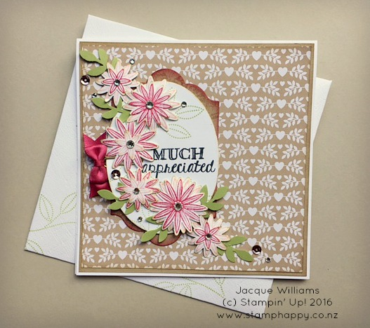 stampin up grateful bunch crumb cake mother's day