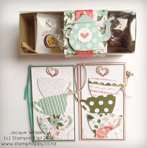 stampin up have a cuppa cards gift set birthday bouquet