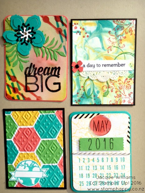 Stampin Up Project Life DIY Swap make your own
