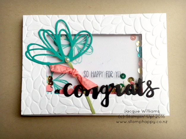 stampin up sunshine sayings wishes petal burst shaker card