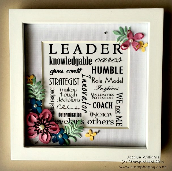 stampin up botanical blooms leadership gifts new zealand