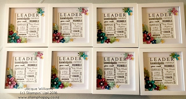 stampin up botanical blooms leadership gifts