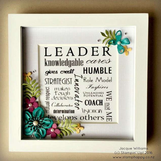 stampin up botanical blooms leadership new zealand gifts