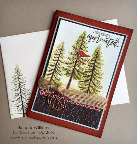 stampin up thoughtful branches fathers day