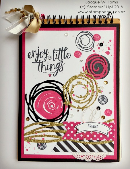 stampin-up-swirly-bird-melon-mambo-altered-notebook