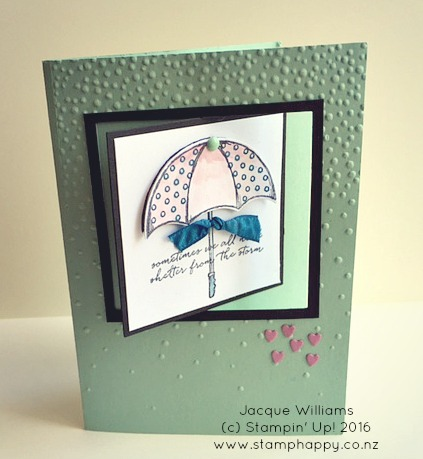 stampin up weather together swing card