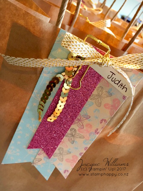 stampin up altered gift bag so in love extravaganza new zealand sweet sugarplum
