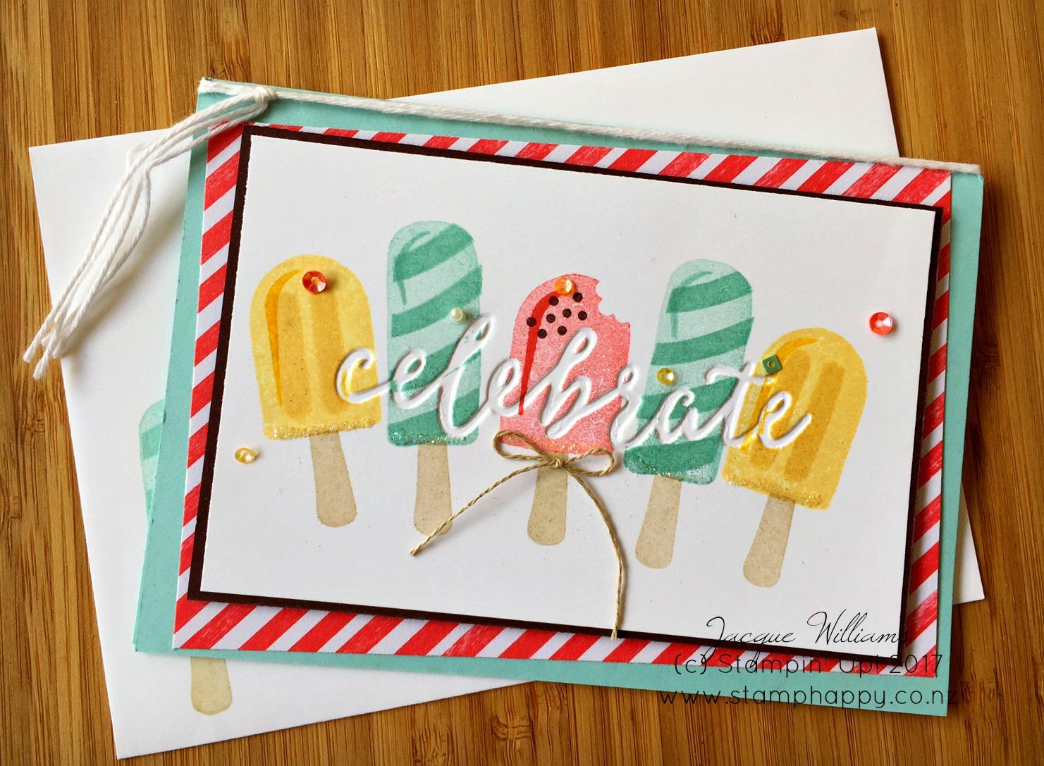 Cool Treats DEBossed Birthday Card Tutorial Video – Birthday Card Cool