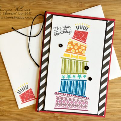 Cake Crazy Birthday Card Club – Kits Available and Video Tutorial!