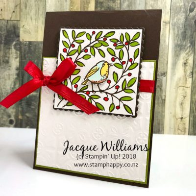 Feathers & Frost Gift Bags and Quick Christmas Card