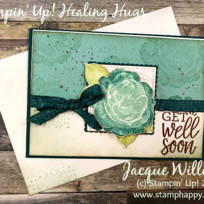 Healing Hugs Vintage Get Well Soon Card