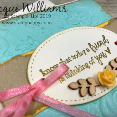 All Stars Team March Blog Hop – Country Floral Embossing Folder
